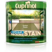 Golden Maple Anti-slip Decking Stain 2.5L - Cuprinol