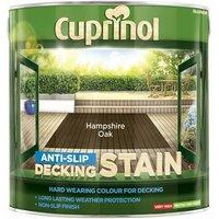 Anti-Slip Decking Stain Hampshire Oak 2,5 Litre (CUPUTDSHO25L) - CUPRINOL