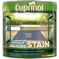 Cuprinol Anti Slip Decking Stain - Urban Slate - 2.5 Litre