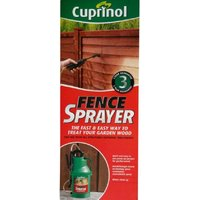 Fence Sprayer Quick And Easy To Use Pump-up Sprayer For Garden Wood - Cuprinol