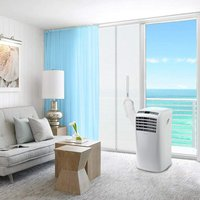 Curtain, can be used for the balcony, door, mobile air conditioner, air conditioning, tumble dryer, exhaust air dryer, hot air unit with zipper,
