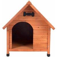 Cypress wood dog bed 75 x 95 x 83 cm - MERCATOXL