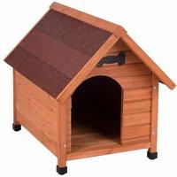 Cypress wood dog bed B 85 x T 111 x H 99 cm - MERCATOXL
