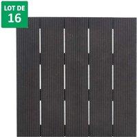 Dalle compositen pour terrasse - épaisseur de 21mm- 500x500 mm- ANTRAK