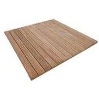 Dalle AKOLA en bois Exotique 50 x 50 - Haute qualité