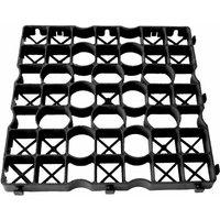 Dalle stabilisatrice de gravier polyéthylène Ep 4cm 50x50cm IG040 Nidaplast (vendu au m²)