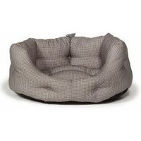 Deluxe Slumber Bed Vintage Dogstooth 45cm x 1 (338364) - Danish Design