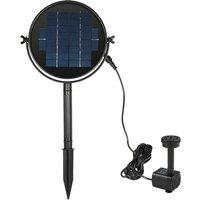 Decdeal 9V 3W Solar Panel Solar Powered Fountain