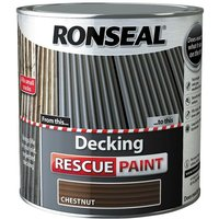 Decking Resue Paint - Chestnut - 2.5L - Ronseal