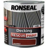 37451 Decking Rescue Paint Bramble 2.5 Litre - Ronseal