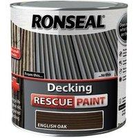 37615 Decking Rescue Paint English Oak 5 Litre - Ronseal