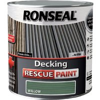 Ronseal Decking Rescue Paint - For New Look Decking - 5 Litre - Willow