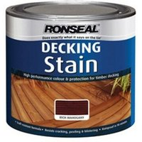 Ronseal 33409 Decking Stain Rich Mahogany 2.5 Litre