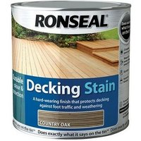 35477 Decking Stain Rich Teak 2.5 Litre - Ronseal
