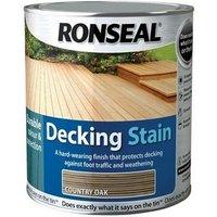 Ronseal 36705 Decking Stain Rich Teak 5 Litre