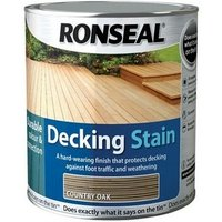 Ronseal 36704 Decking Stain Country Oak 5 Litre