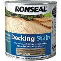 35477 Decking Stain Rich Teak 2.5 Litre - Ronseal