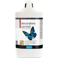 Polyvine - Decorators Varnish - Satin - 4 LITRE