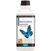 Decorators Varnish - Dead Flat - 2 LITRE - Polyvine