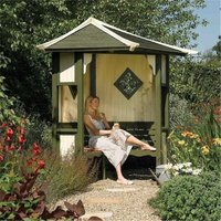 Cheshire Arbours+gazebos+arches(r) - Deluxe Haven Arbour