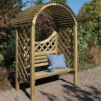 Deluxe Keswick Arbour - CHESHIRE ARBOURS + GAZEBOS + ARCHES (R)