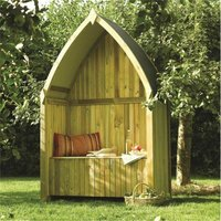 Cheshire Arbours+gazebos+arches(r) - Deluxe Winchester Arbour