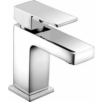 Savvi MK2 Mini Mono Single Lever Basin Mixer Tap - Chrome - Deva