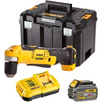 Dewalt DCD740T1 18V Right Angle Drill with 1 x 6.0Ah Battery and Charger in TSTAK:18V