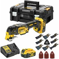 Dewalt DCS356P2 18V Brushless Oscillating Multi Tool Cutter with 39 Piece Accessories Set