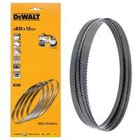 Dewalt DT8462 Bandsaw Blades 4 Pack - 835mm x 12mm x 24TPI Suits DCS371 DCS377
