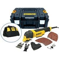 Dewalt DWE315KT 240V Corded Oscillating Multi Tool in T-Stak +36 Acc Set +Bag