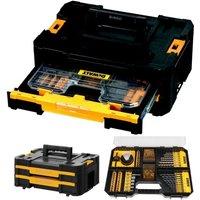 DWST1-70706 TStak IV Tool Storage Box 2 Drawers + 100 Piece Accessory Set - Dewalt