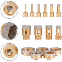 diamond core bit M14 drill bit tile drill diamond drill wet+dry flex angle grinder - 15 mm - Melko
