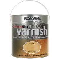 Diamond Hard Floor Varnish - Light Oak - 2.5L - Ronseal