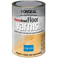 Diamond Hard Floor Varnish Satin 2.5 - Ronseal