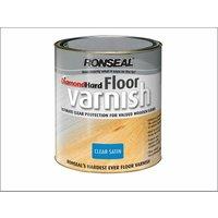 Diamond Hard Floor Varnish Satin 2,5 Litre (RSLDHFVS25L)