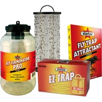 DISINFECTION KIT from flying insects from the inner più outer stable with trap - STARBAR