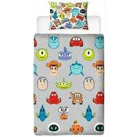 Emoji Duvet Cover Set (Single) (Multicoloured) - Disney Pixar