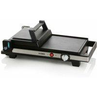 plancha grill électrique 3en1 2200w 60x25cm - do9238g - Domo