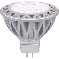 Downlight MR16 LED bulb GU5.3 Projector, 5W is equivalent to a 50-60W halogen lamp, RA85 600LM DC12V, 1 Pack.-