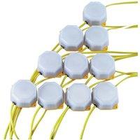 90094 4W SMD LED Festoon String Lights (22 Metre Cable, Set of 10) - Draper
