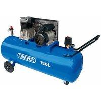 55305 150L Belt-Driven Air Compressor (2.2kW) - Draper