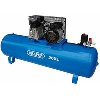 55313 200L Stationary Belt-Driven Air Compressor (2.2kW) - D