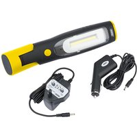 80966 Inspection Lamp with Rechargeable 4W COB LED and UV LED - Draper