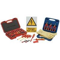 Draper Expert - DRAPER 99713 - Hybrid/Electric Vehicle Hand Tool Kits with VDE Socket Set