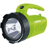 3W Rechargeable Spotlight (Green) - DRAPER