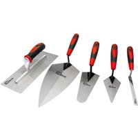 Zqyrlar - Draper Tools Five Piece Trowel Set Carbon Steel 69153