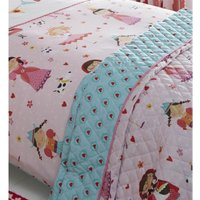 Dressing Up Quilted Throw