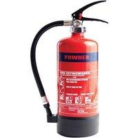 MP4 4KG Dry Powder Extinguisher Rating 21A/113B - Moyne Roberts