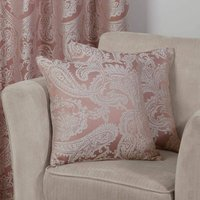 Duchess Cushion Cover Blush 17x17 Bed Sofa Accessory